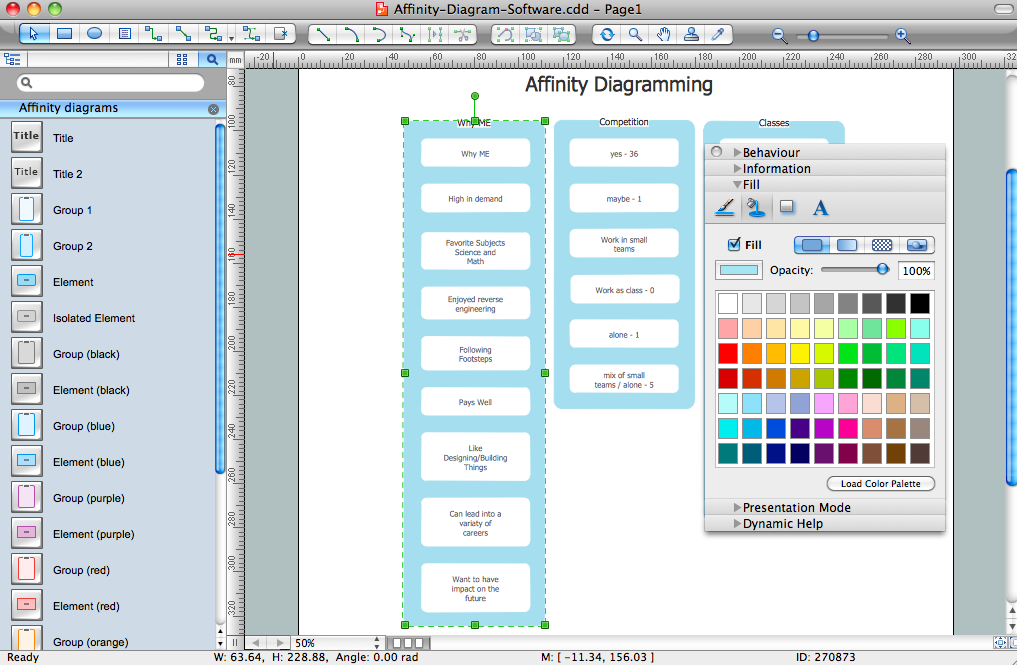 Affinity Diagram Software