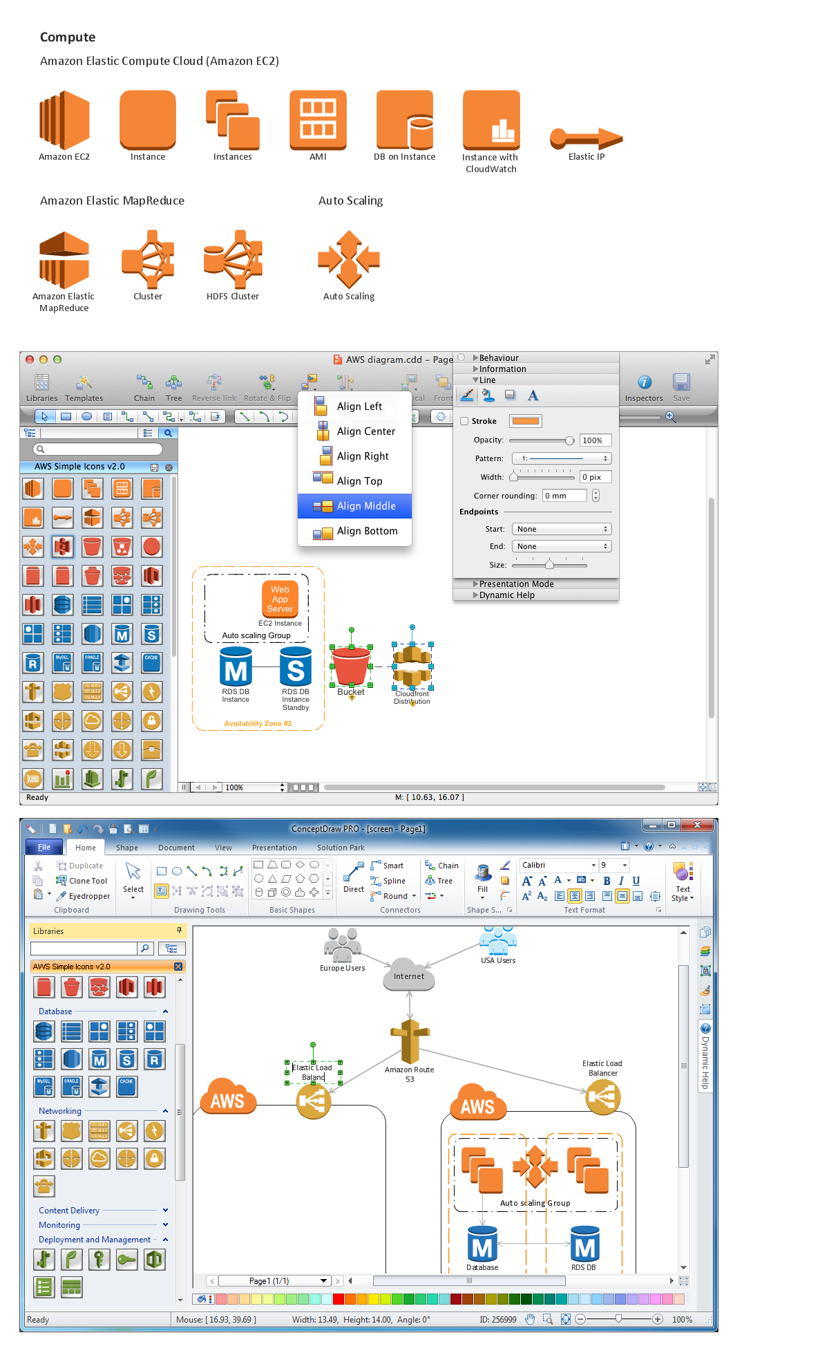 Amazon-Web-Services-AWS-Design-Elements-icons-Compute conceptdraw solution park web tool