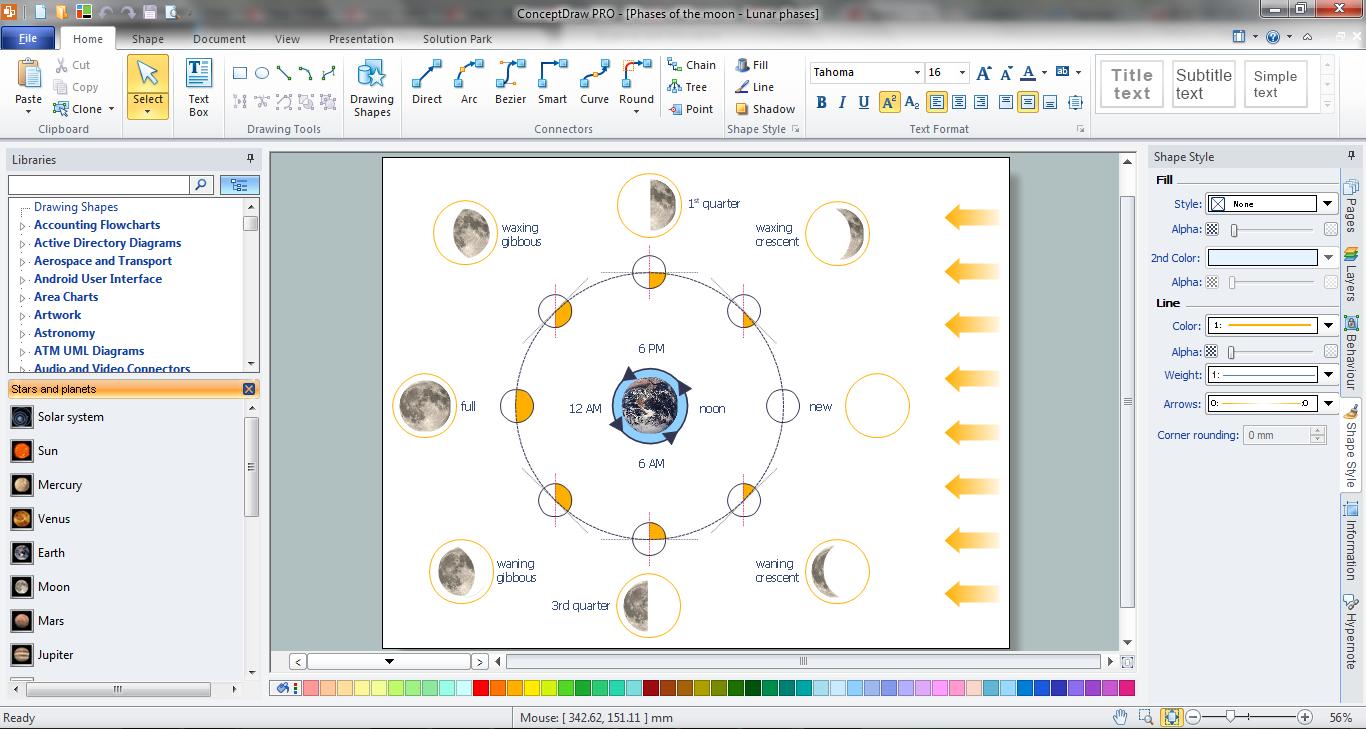Biology Drawing Software Basic Diagramming Flowchart Software