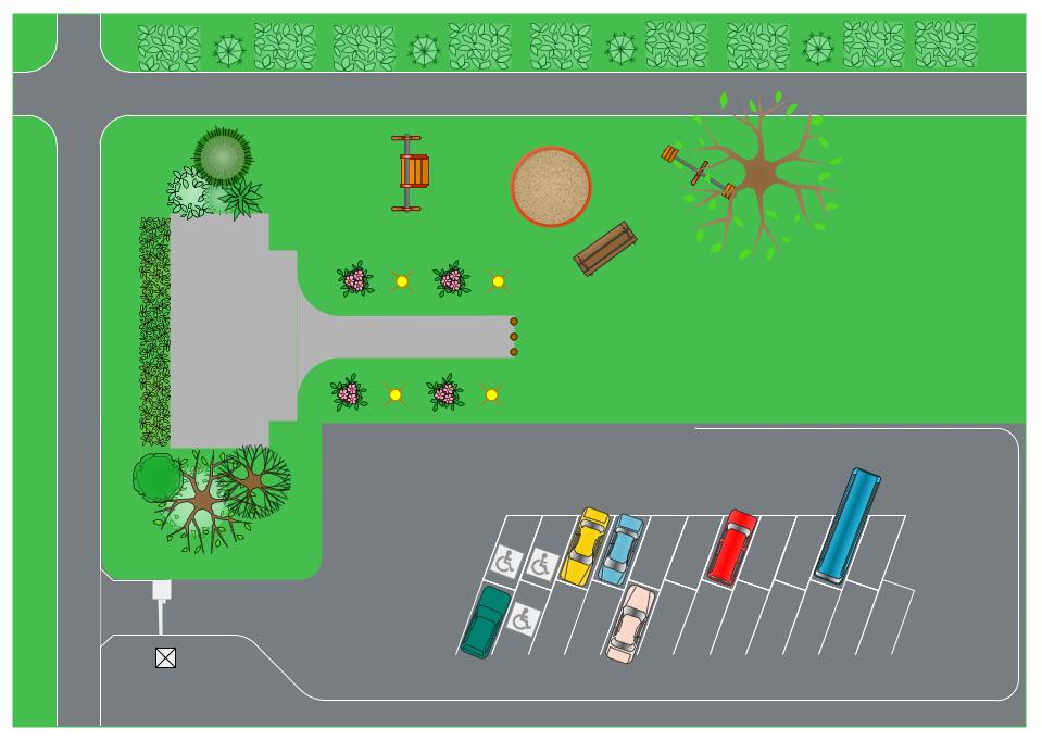 Building Site plan