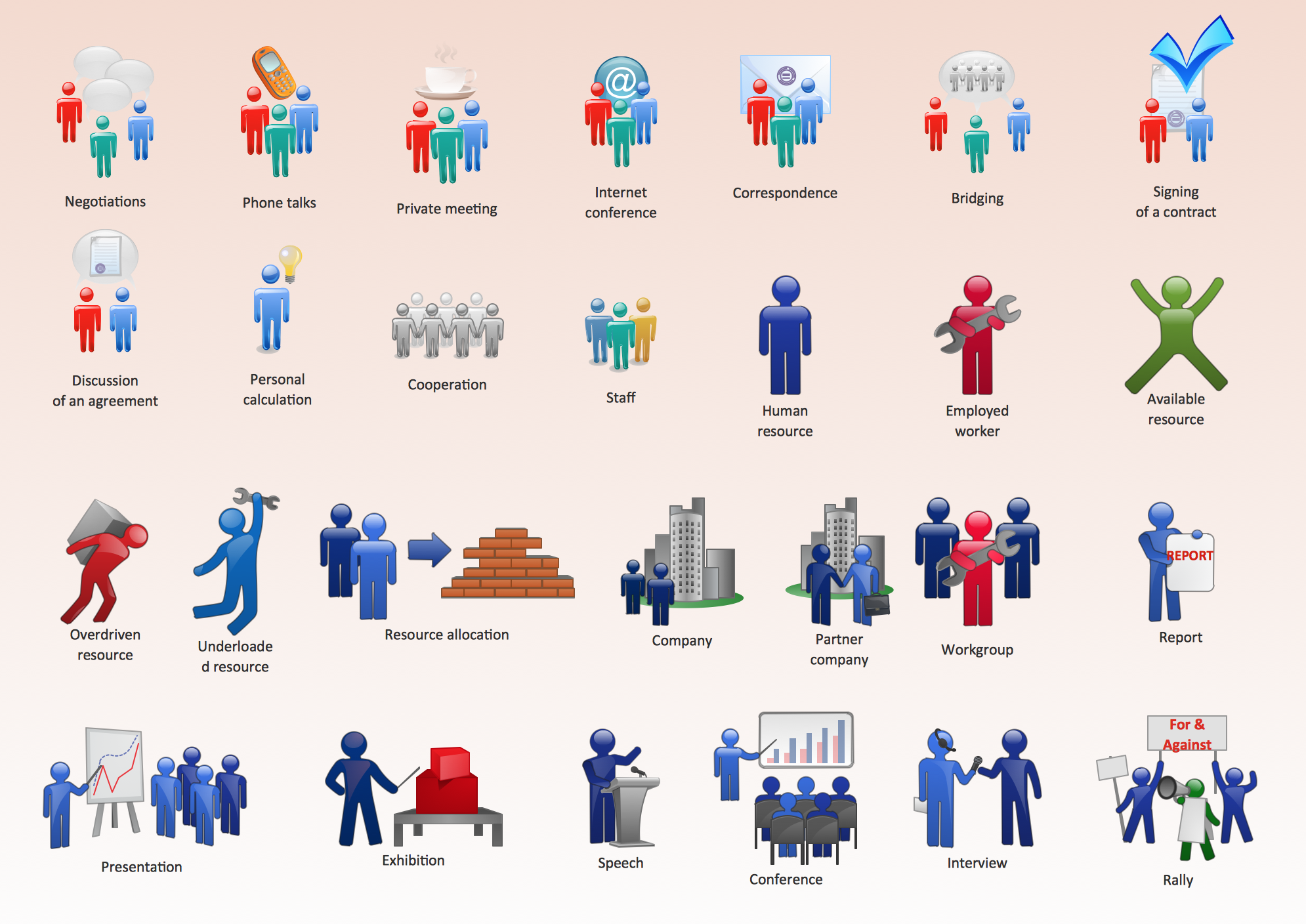 Business People Figures