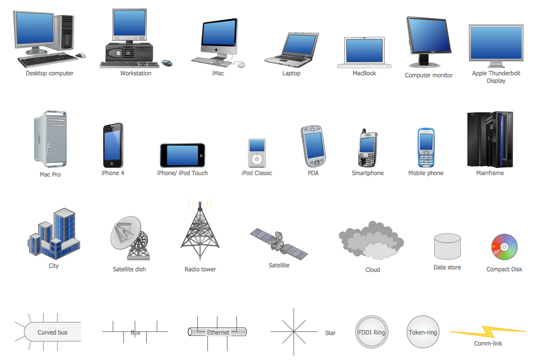 , stencils and symbols  Network Icon  Cisco Network Color Icons