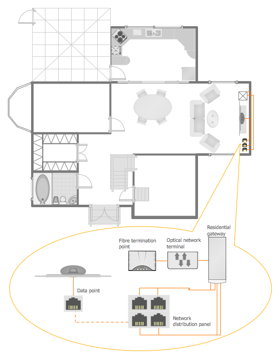 network layout floor plans local area network lan. Black Bedroom Furniture Sets. Home Design Ideas