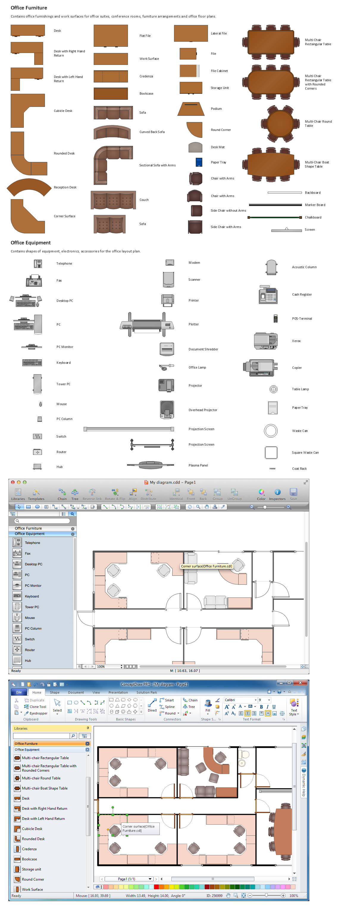 Office Layout Plan