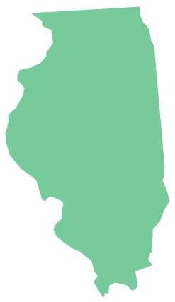 Geo Map - USA - Illinois