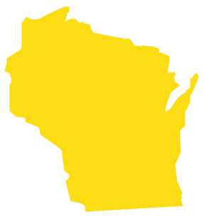 Geo Map - USA - Wisconsin