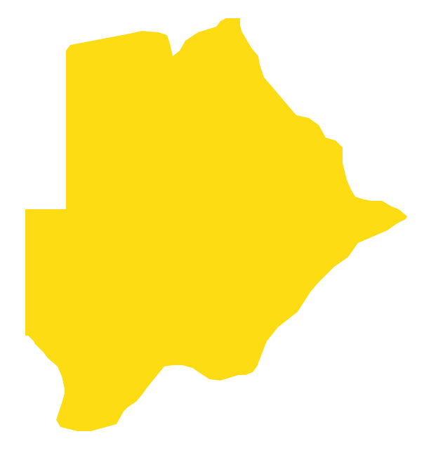 Geo Map - Africa - Botswana
