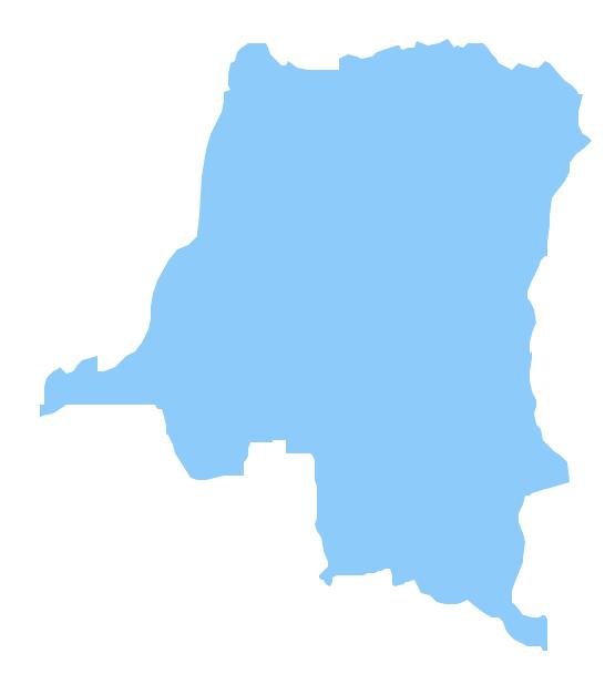 Geo Map - Africa - Congo DRC