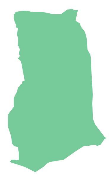 Geo Map - Africa - Ghana
