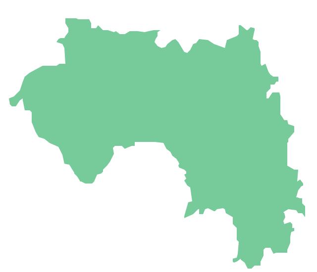 Geo Map - Africa - Guinea