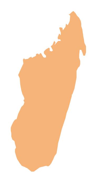 Geo Map - Africa - Madagascar