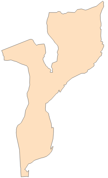 Geo Map - Africa - Mozambique