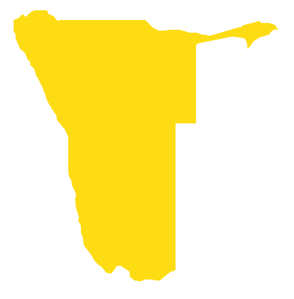 Geo Map - Africa - Namibia