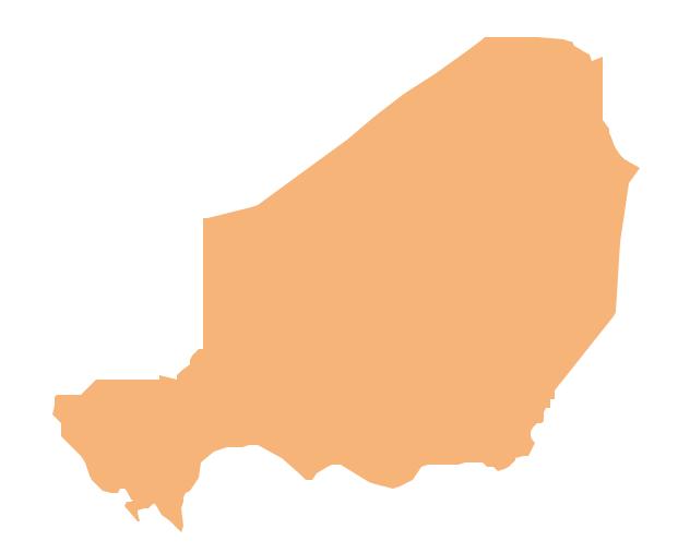 Geo Map - Africa - Niger