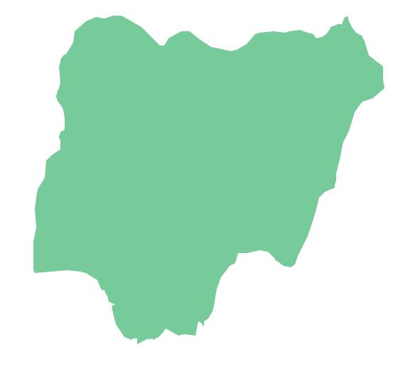 Geo Map - Africa - Nigeria