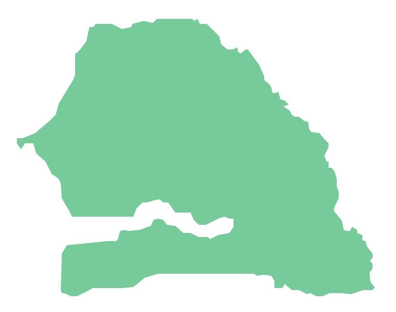 Geo Map - Africa - Senegal