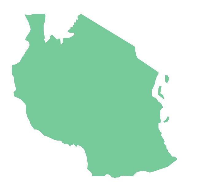 Geo Map - Africa - Tanzania