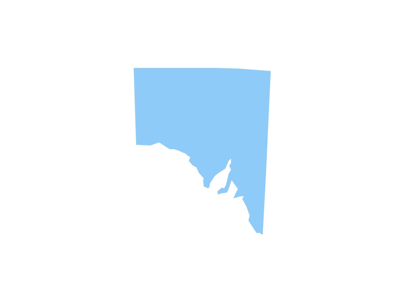 Geo Map - Australia - South Australia