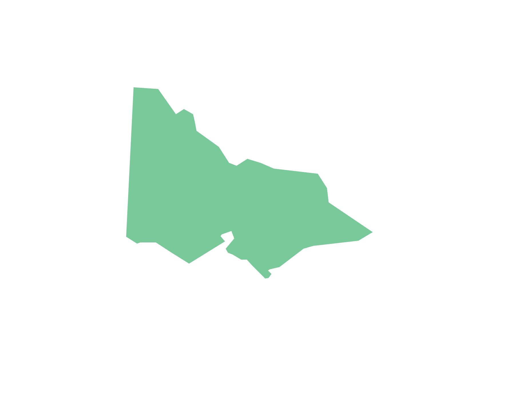 Geo Map - Australia - Victoria