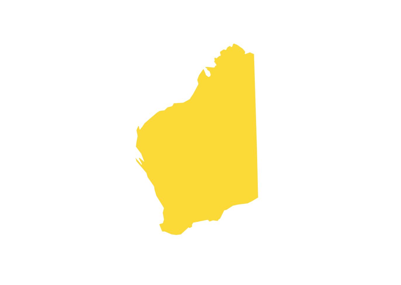 Geo Map - Australia - Western Australia