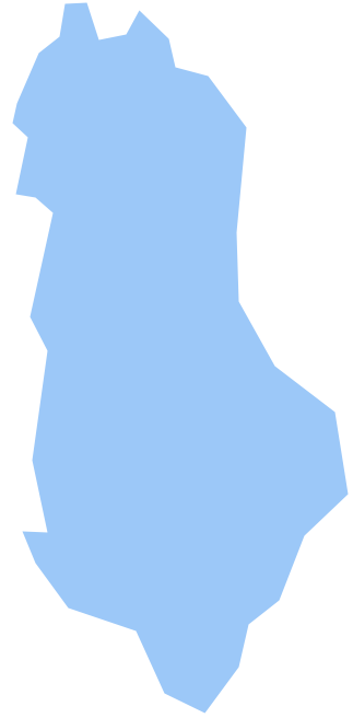 Geo Map - Europe - Albania