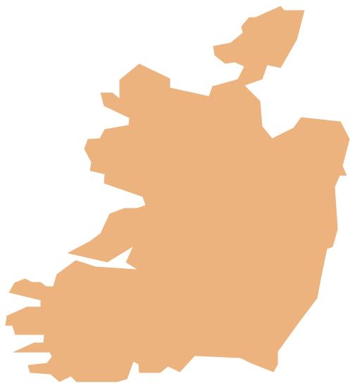 Geo Map - Europe - Ireland