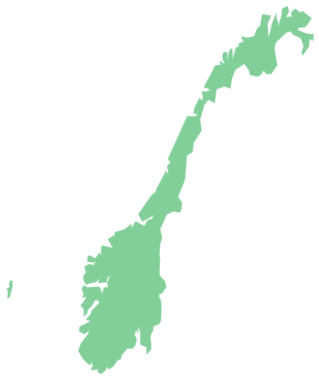 Geo Map - Europe - Norway
