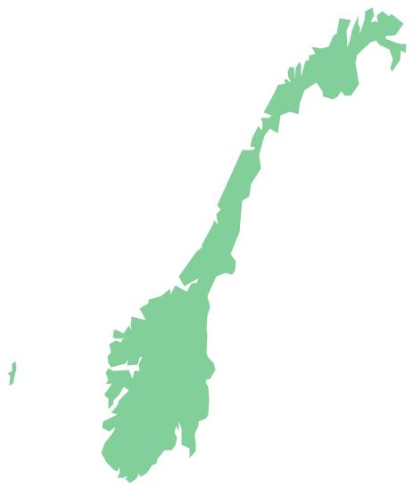 Geo Map - Europe - Norway