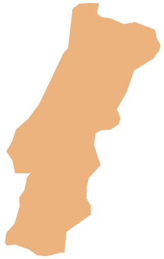 Geo Map - Europe - Portugal