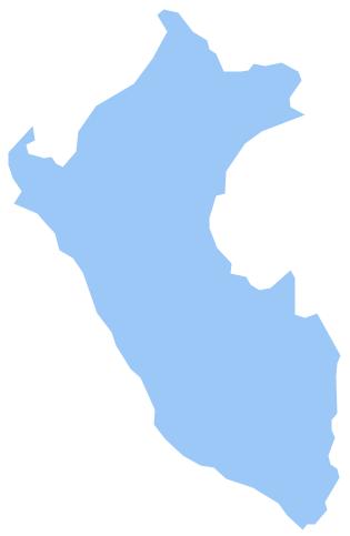 Geo Map - South America - Peru
