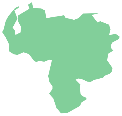 Geo Map - South America - Venezuela