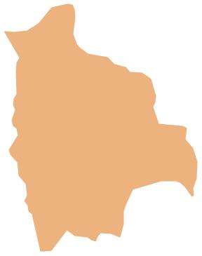 Geo Map - South America - Bolivia