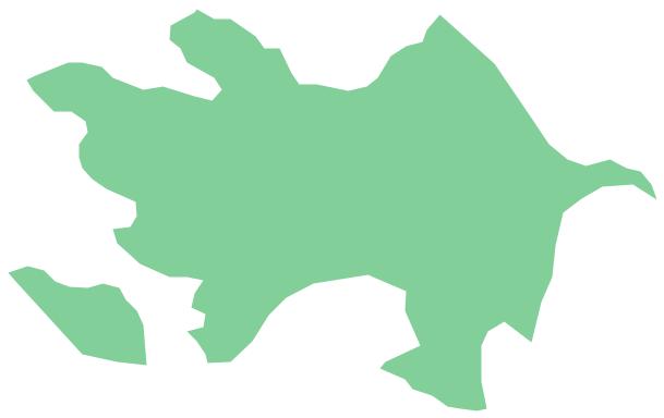 Geo Map - Asia - Azerbaijan