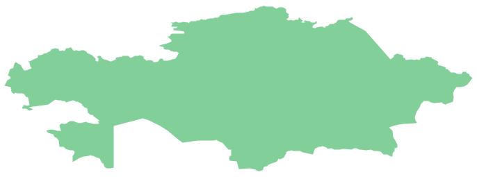 Geo Map - Asia - Kazakhstan