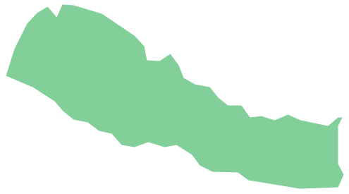 Geo Map - Asia - Nepal