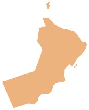 Geo Map - Asia - Oman