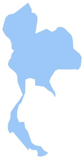 Geo Map - Asia - Thailand