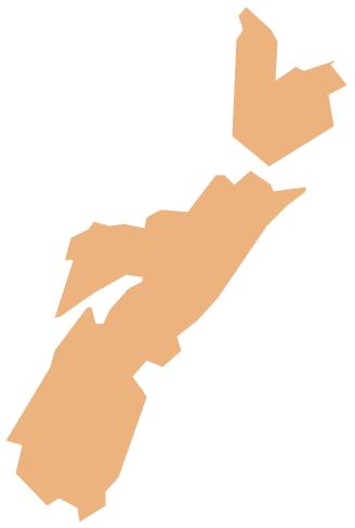Geo Map - Canada - Nova Scotia