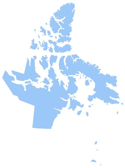 Geo Map - Canada - Nunavut