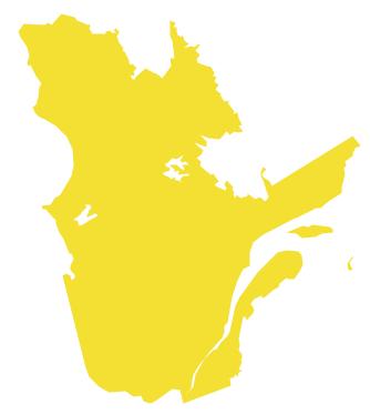 Geo Map - Canada - Quebec