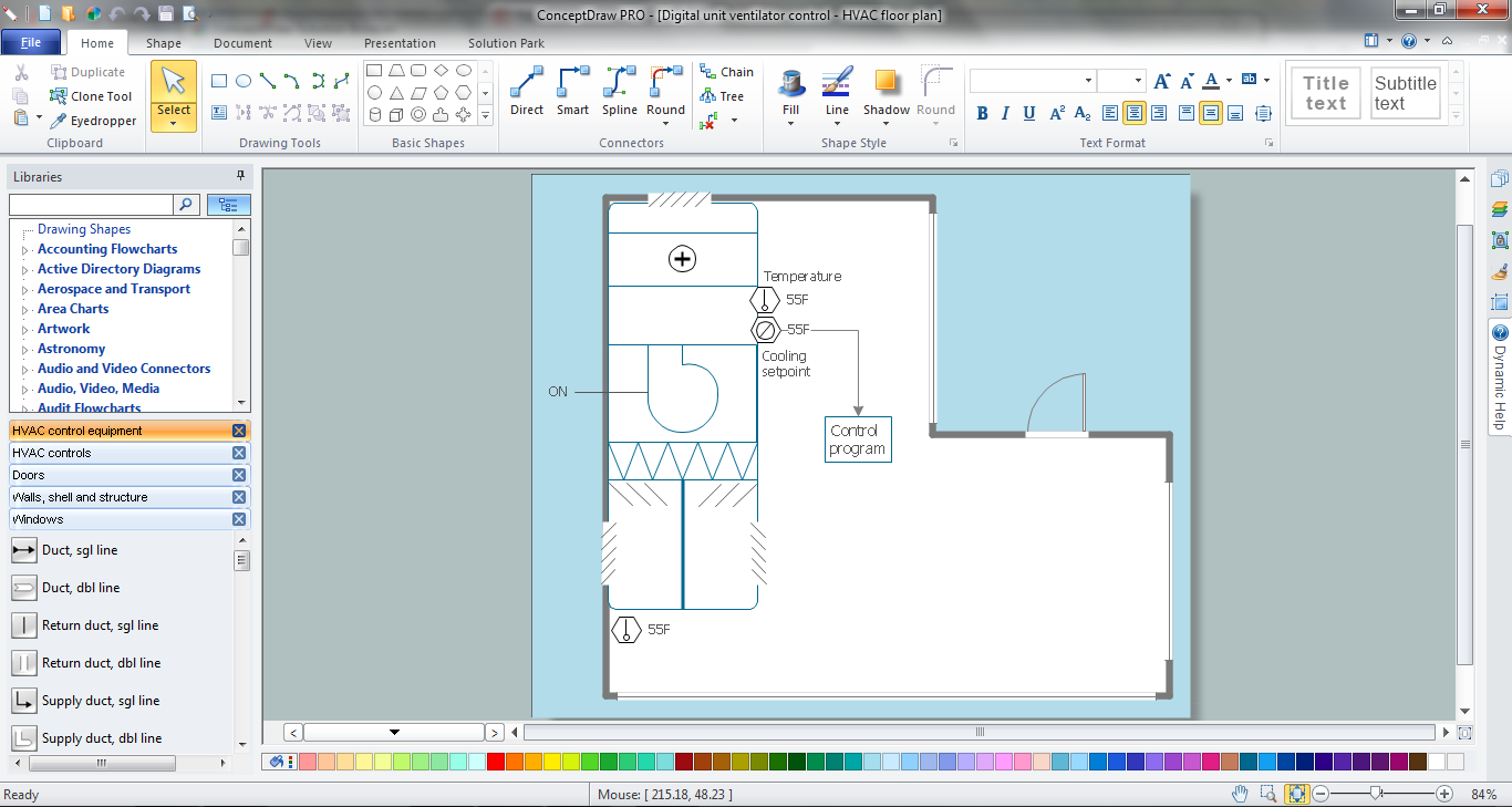 Hvac Marketing Plan Design And Drawing In Conceptdraw Diagram P