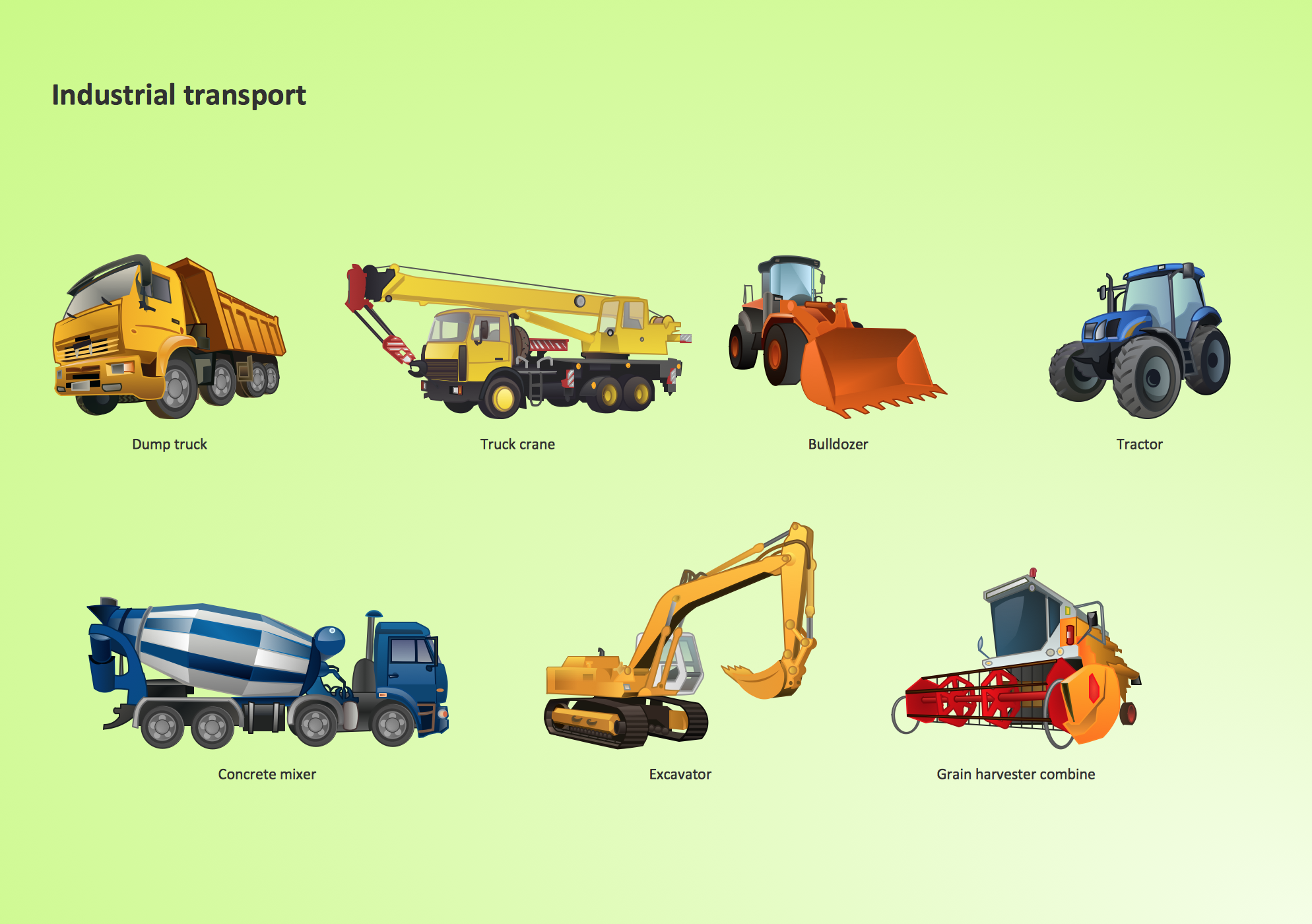Industrial Transport  design element,  Industrial Transport  clipart