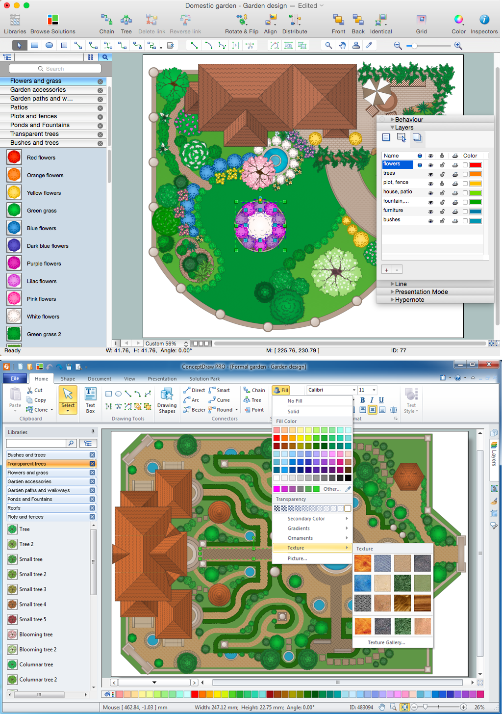 Landscape Architecture with ConceptDraw DIAGRAM  *