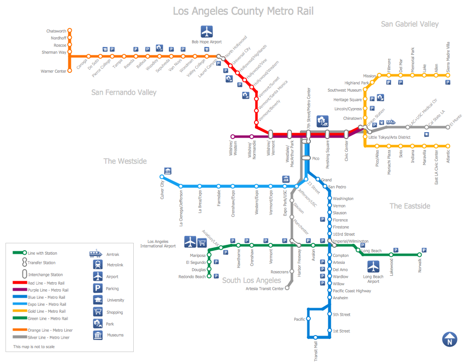 Subway Train Map