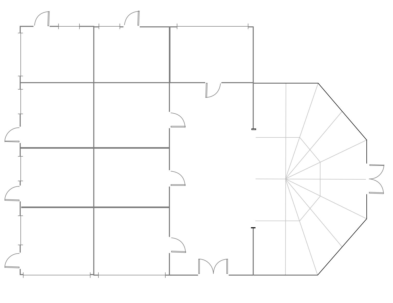 Mini Hotel Foor Plan