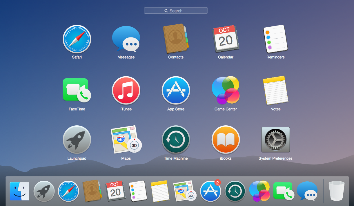 Mac OS User Interface Design Examples