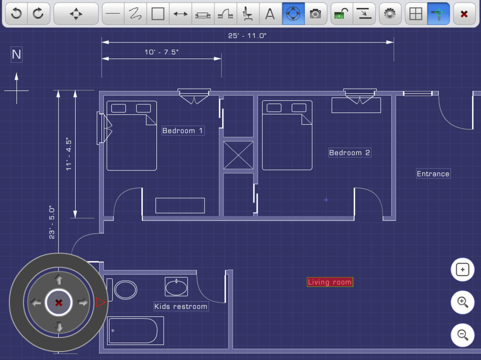top ipad diagramming apps padcad lite