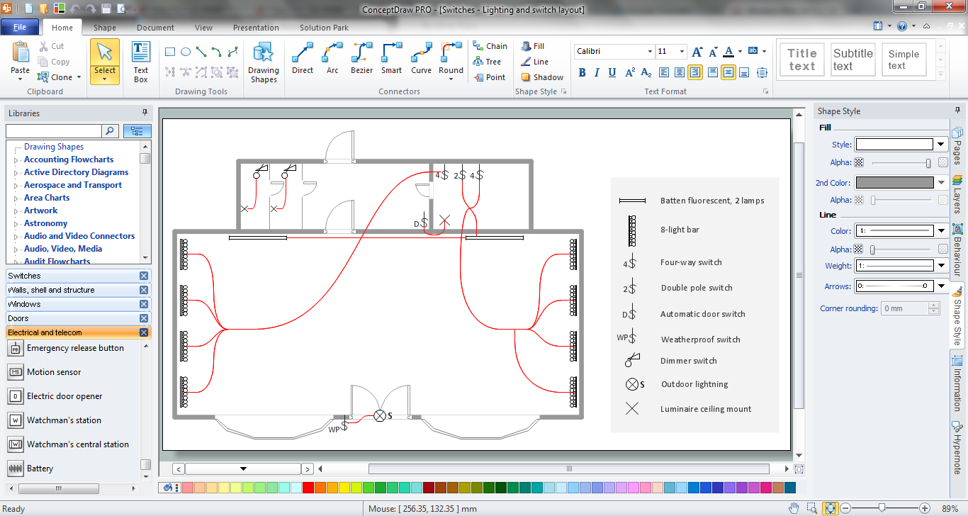 Electrical and telecom plan software how to use Electrical floor plan software