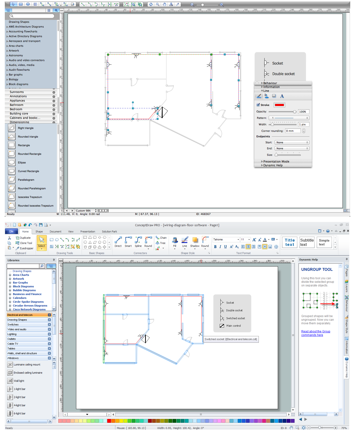 Wiring Diagram Floor Software