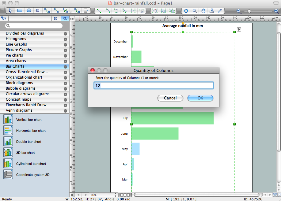 ConceptDraw DIAGRAM v12 chart software